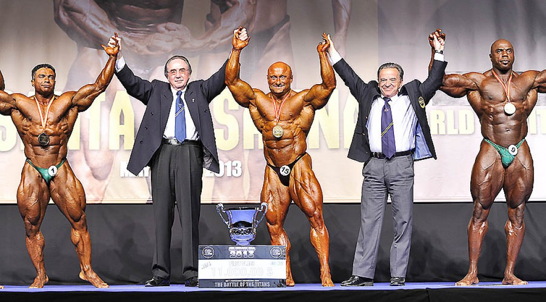 2013 Mr Europe Open Report and Full Results