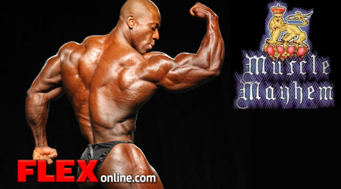 2013 NPC Muscle Mayhem Info and Entry Form
