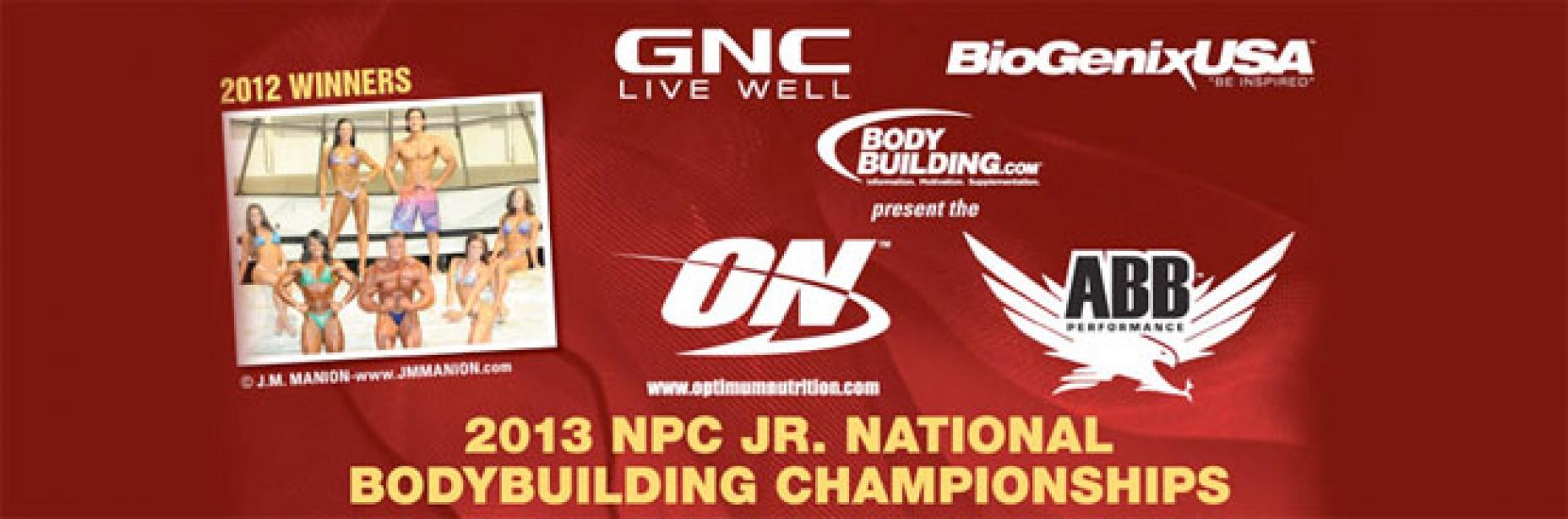 2013 Jr Nationals Contest Info