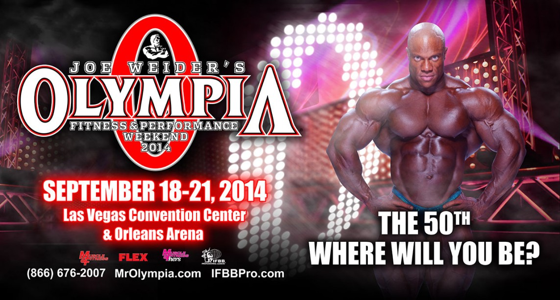 2014 Olympia Weekend Dates