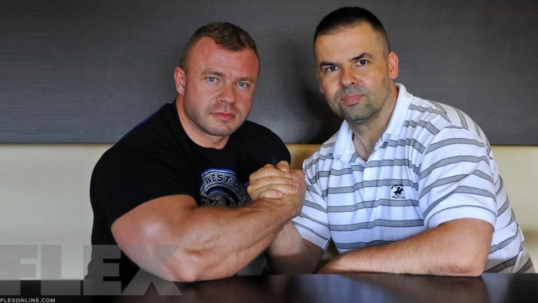 Andrej Mozolani and Igor Kopcek