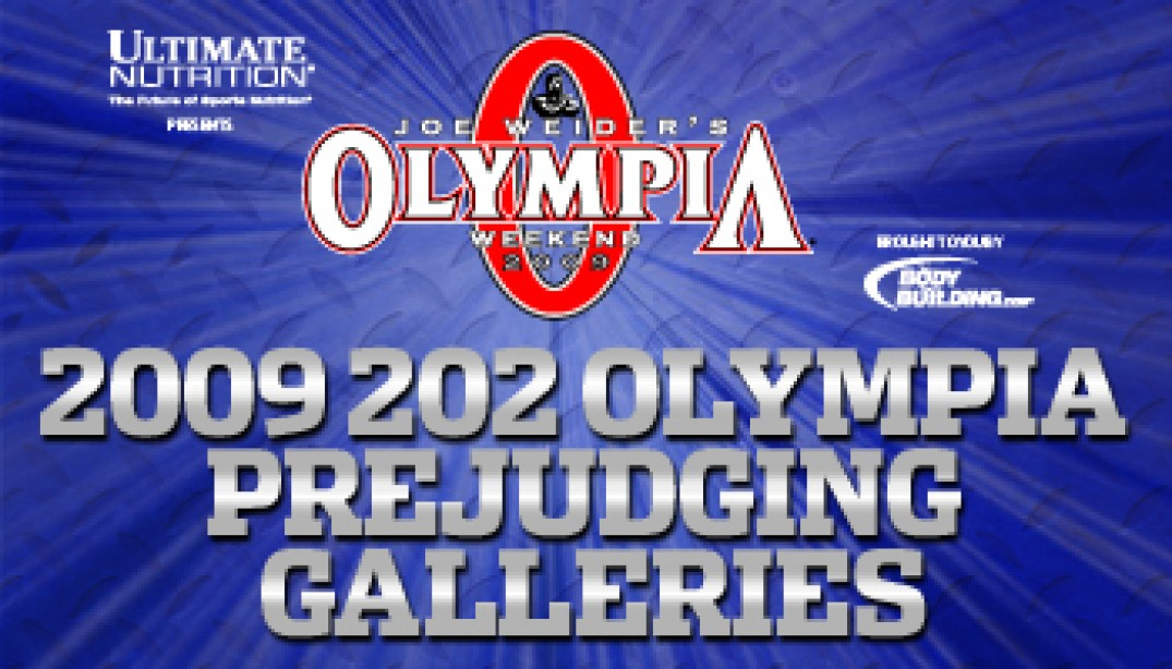 2009 202 OLYMPIA PREJUDGING GALLERIES AND REPORT