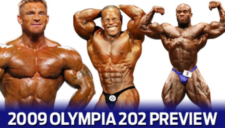 2009 OLYMPIA 202 SHOWDOWN PREVIEW