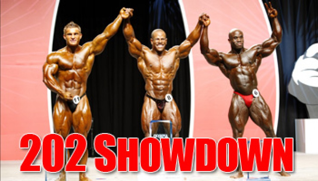 2008 MR. OLYMPIA: 202 SHOWDOWN