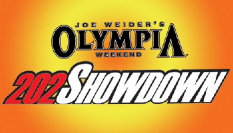 202 SHOWDOWN ON OLYMPIA WEEKEND