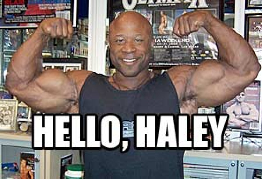 02/15/2007 MARCUS HALEY ENTERS THE IRONMAN PRO LINEUP