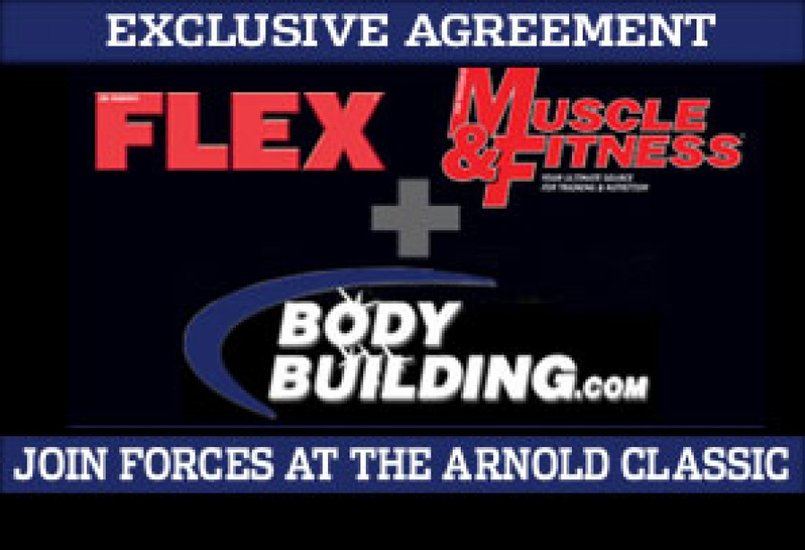 02/28/2007  WEIDER PUBLICATIONS AND BODYBUILDING.COM PARTNERING UP FOR EXCLUSIVE 2007 ARNOLD CLASSIC COVERAGE