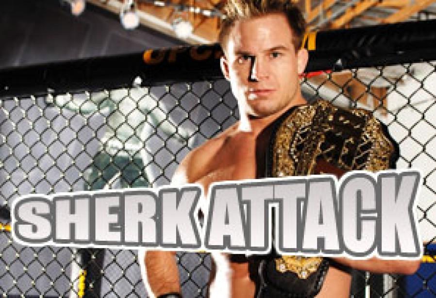 03/26/2007 UFC'S SEAN SHERK IN APRIL FLEX