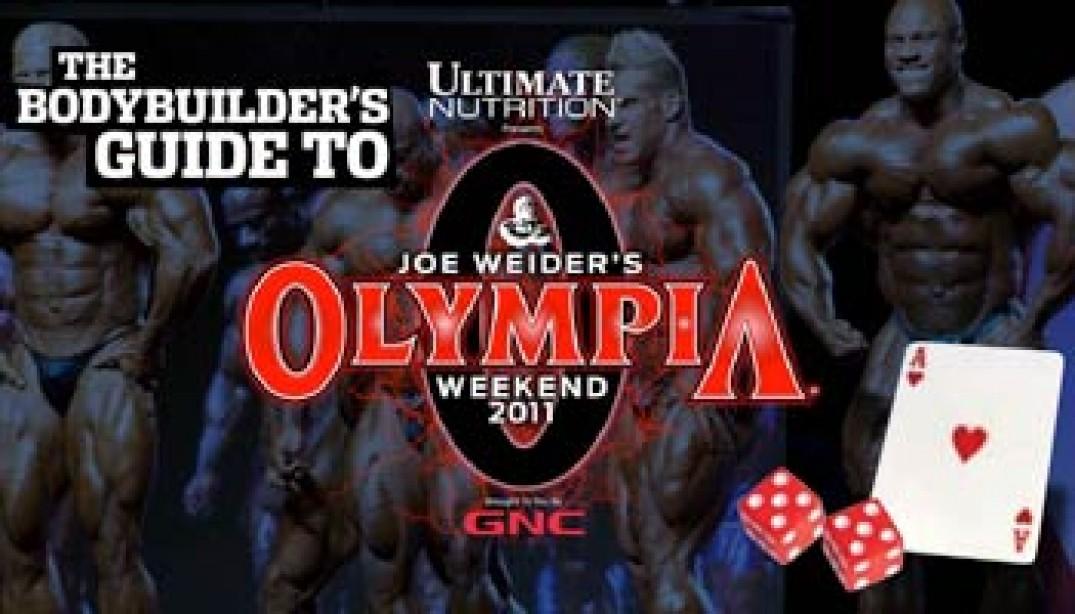 THE BODYBUILDER'S GUIDE TO THE OLYMPIA
