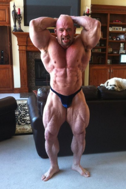 Branch Warren, 8 weeks out of the Arnold Classic. He says he's back at 100%... How do you think he'll do?