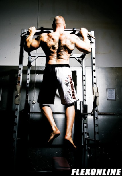 BROCK LESNAR   Muscle & Fitness