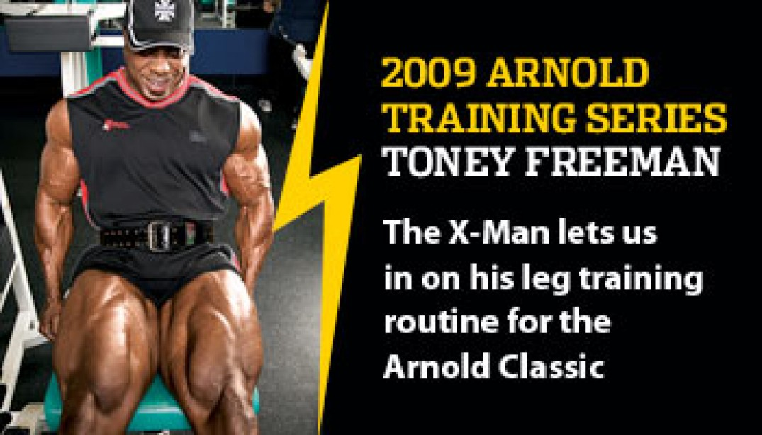 2009 ARNOLD TRAINING SERIES: TONEY FREEMAN