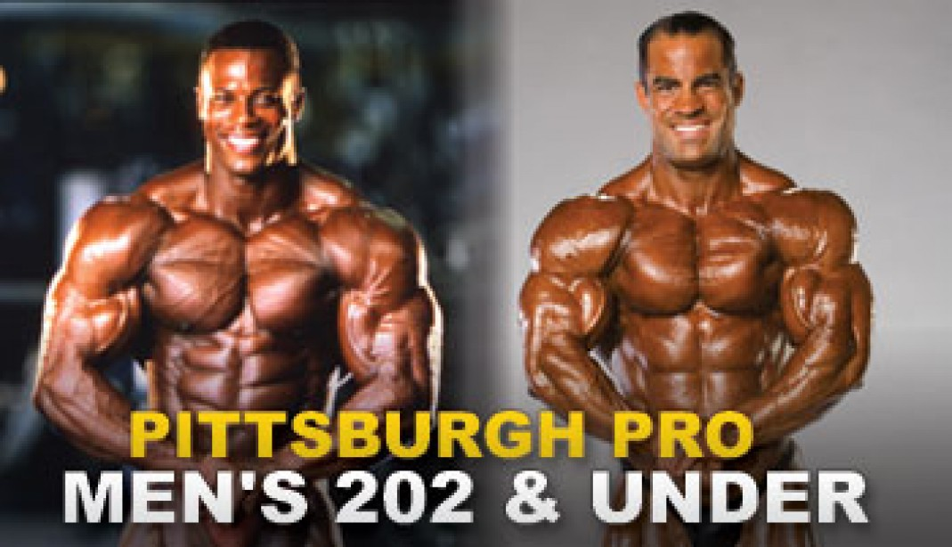 2009 IFBB PITTSBURGH PRO MEN'S 202 & UNDER AND NPC PITTSBURGH  BODYBUILDING, FITNESS, FIGURE AND BIKINI CHAMPIONSHIPS PREVIEW