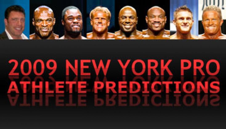 2009 NEW YORK PRO: ATHLETE PREDICTIONS