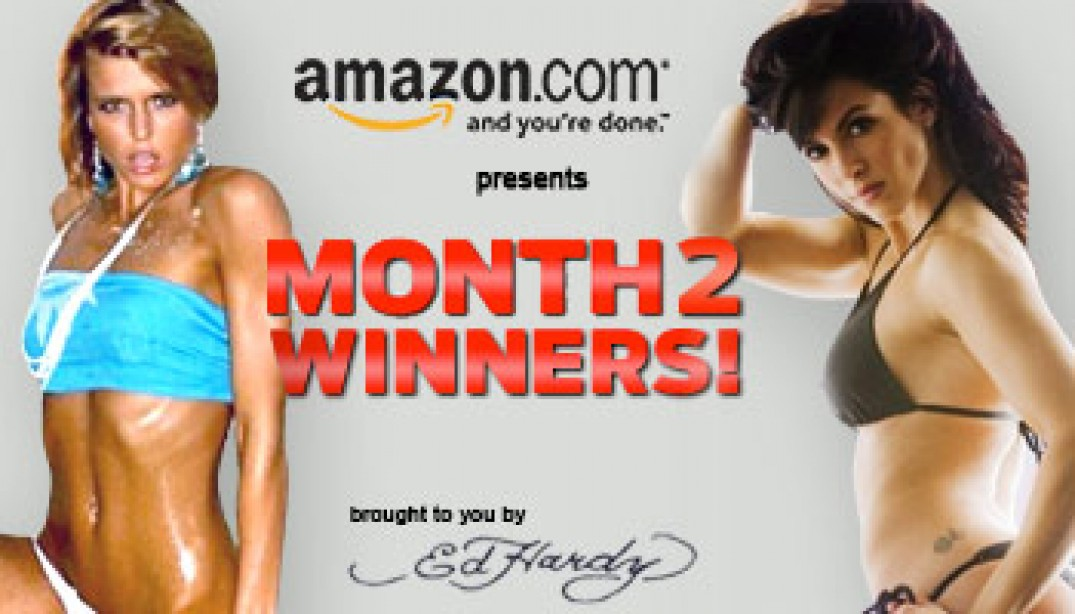 MONTH TWO WINNERS!