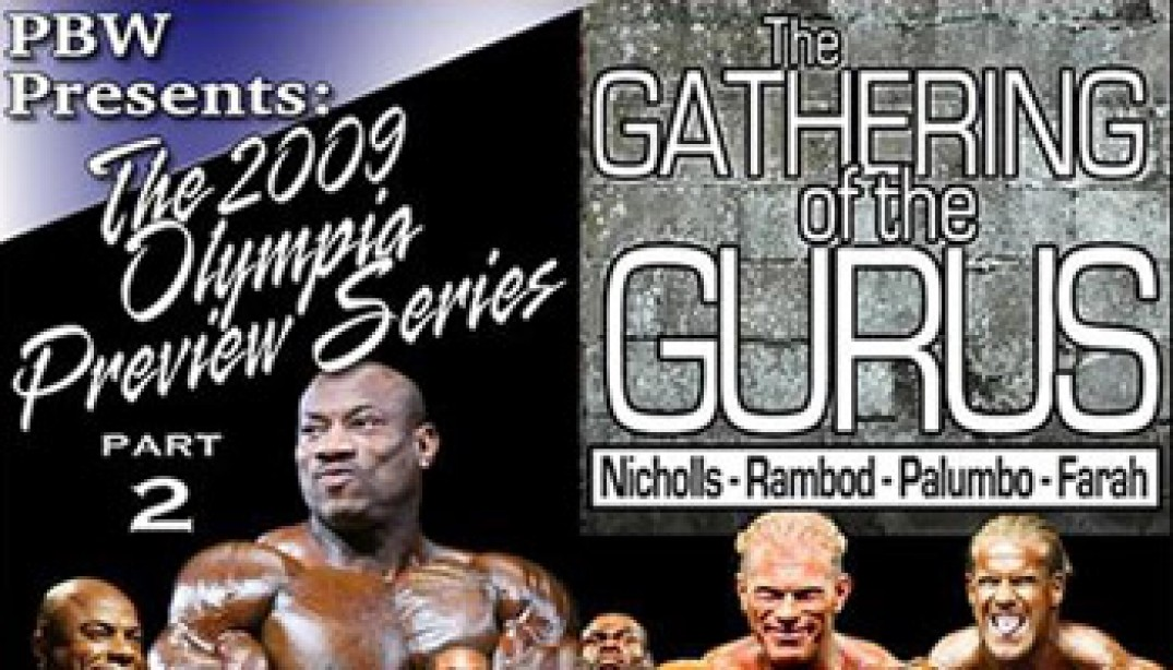PBW: THE GATHERING OF THE GURUS