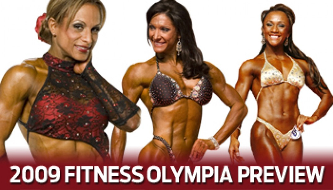 2009 FITNESS OLYMPIA PREVIEW