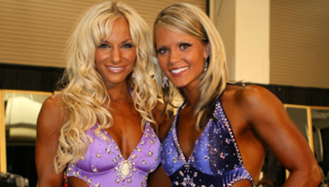 2009 FIGURE, FITNESS AND MS. OLYMPIA BACKSTAGE