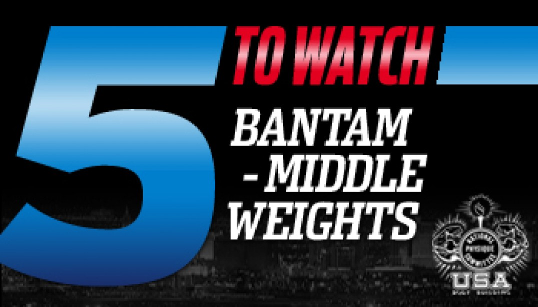 5 TO WATCH: Bantem-Middleweight