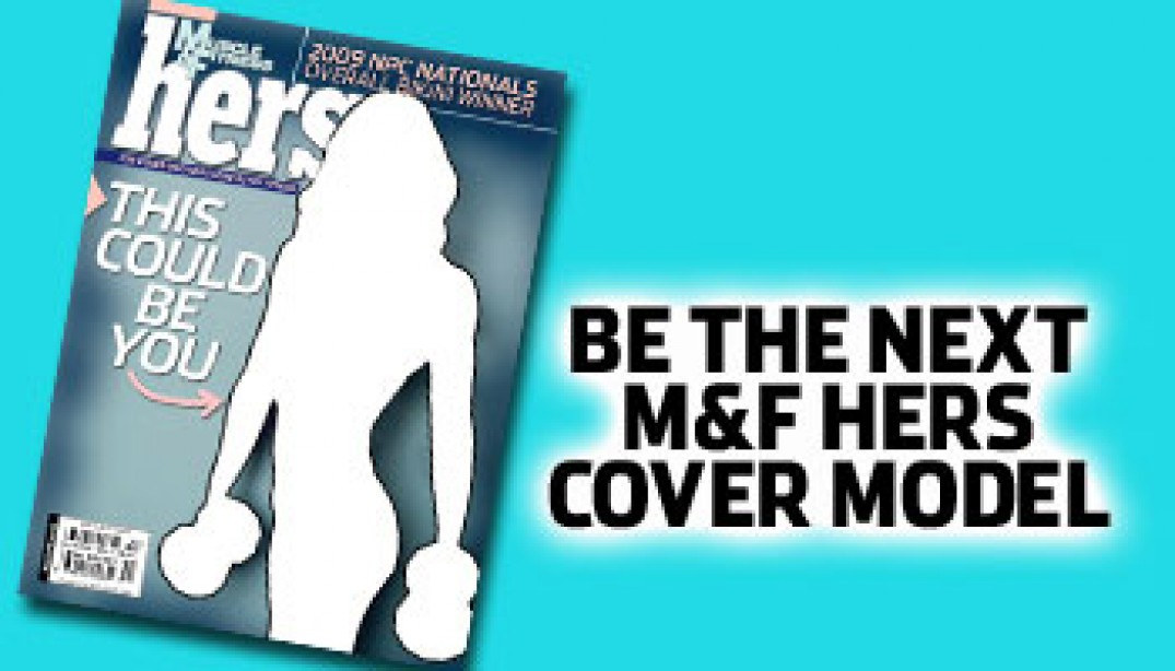 BE AN M&F HERS COVER MODEL