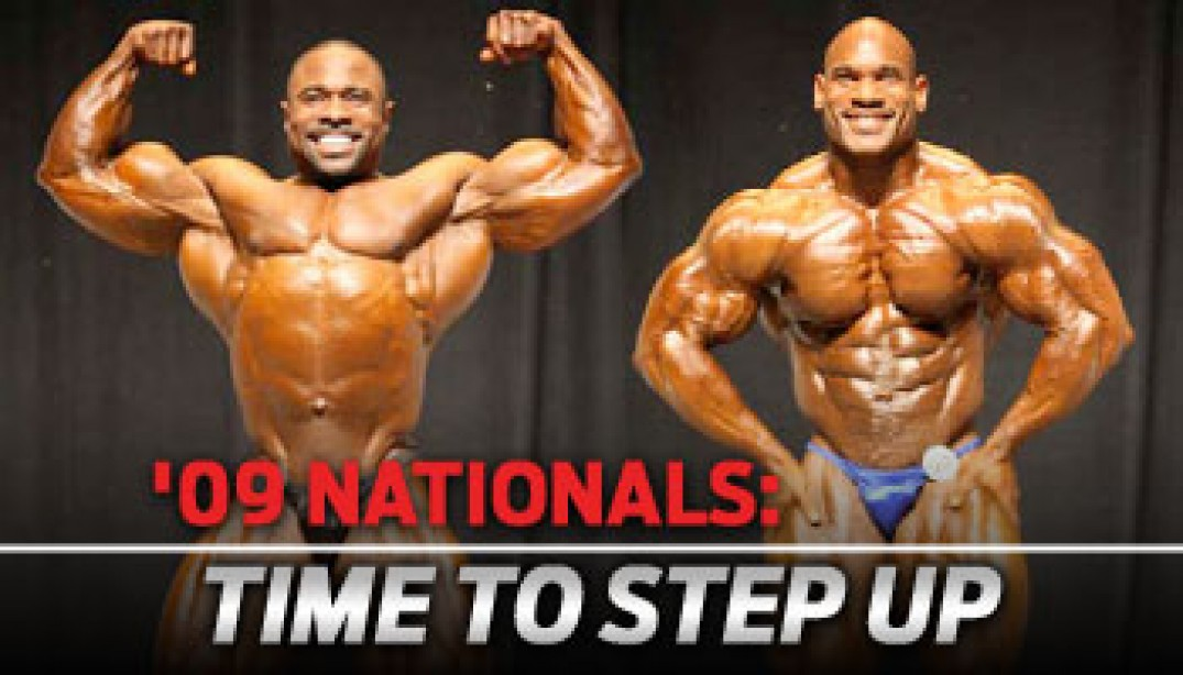 '09 NATIONALS: TIME TO STEP UP