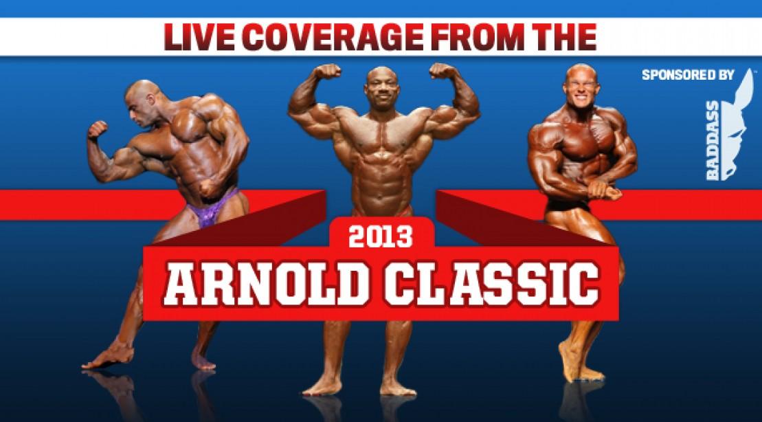 Arnold Classic 2013: Live Coverage