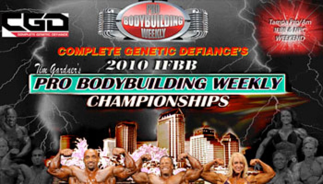 PREVIEW: 2010 IFBB PBW CHAMPIONSHIPS
