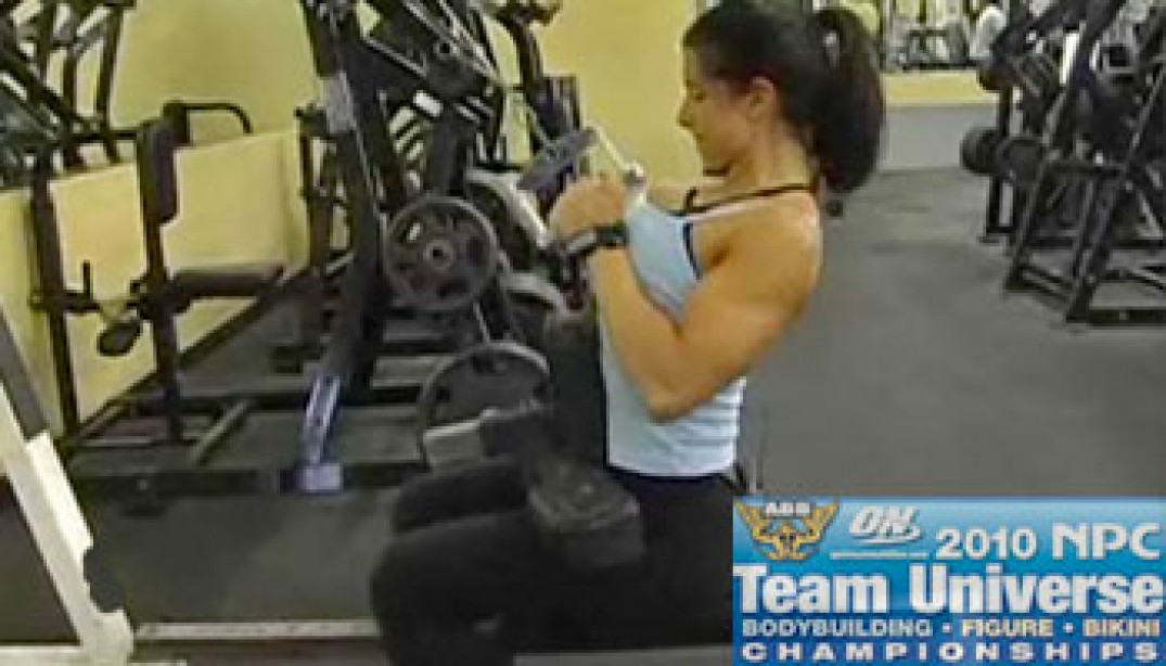 VIDEO: CAROLYN SESSA PREPS FOR THE NPC TEAM U