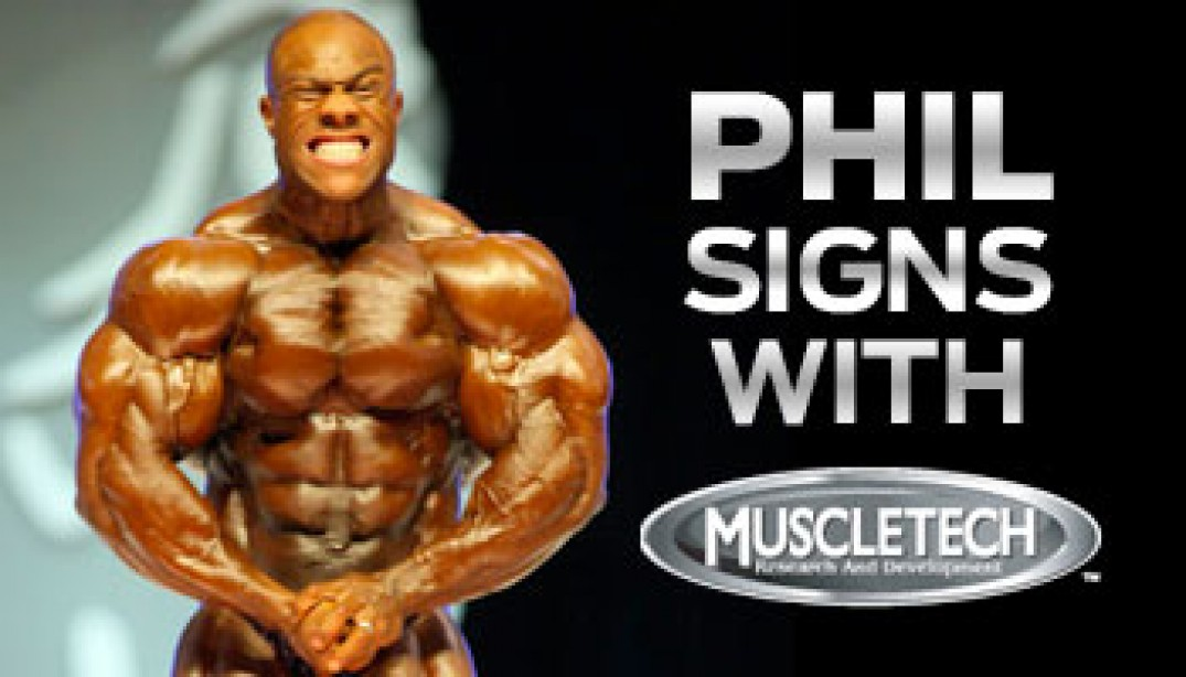 HEATH SIGNS WITH MUSCLETECH