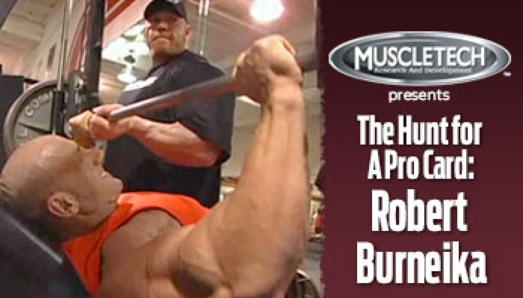 VIDEO: ROBERT BURNEIKA - THE HUNT FOR A PRO CARD