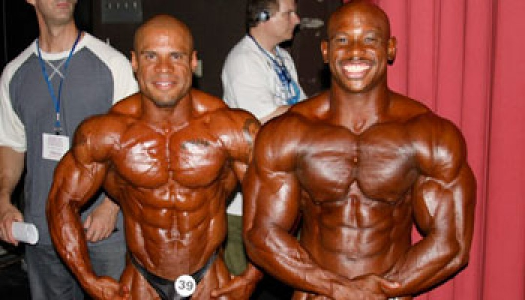 PHOTOS: BACKSTAGE & BEHIND-THE-SCENES AT THE 2010 NPC USA'S