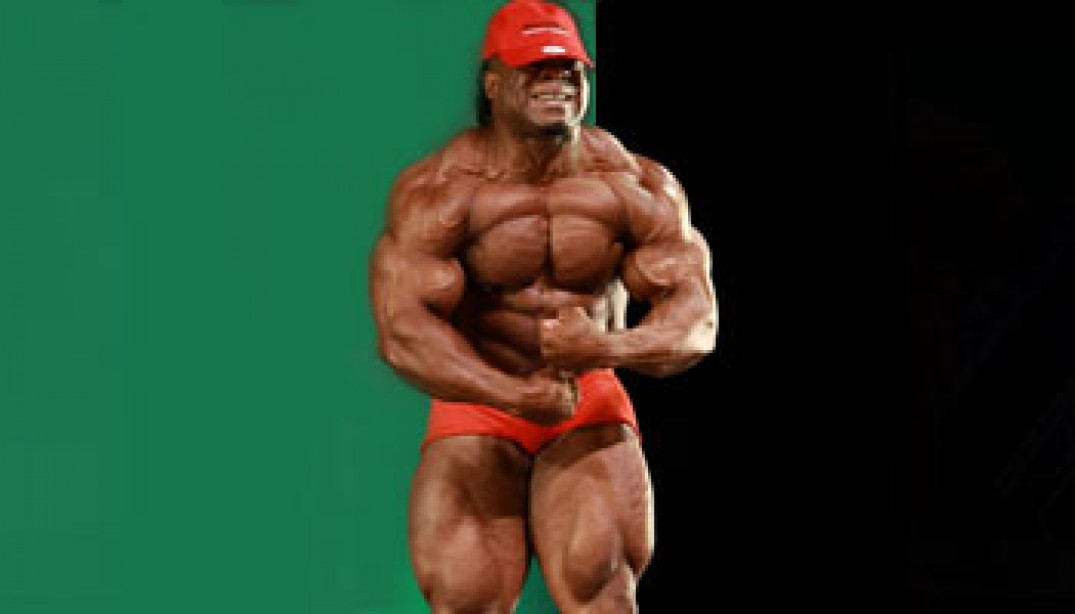 PHOTOS: KAI GREENE  GUEST POSING AT 2010 JACKSONVILLE PRO!
