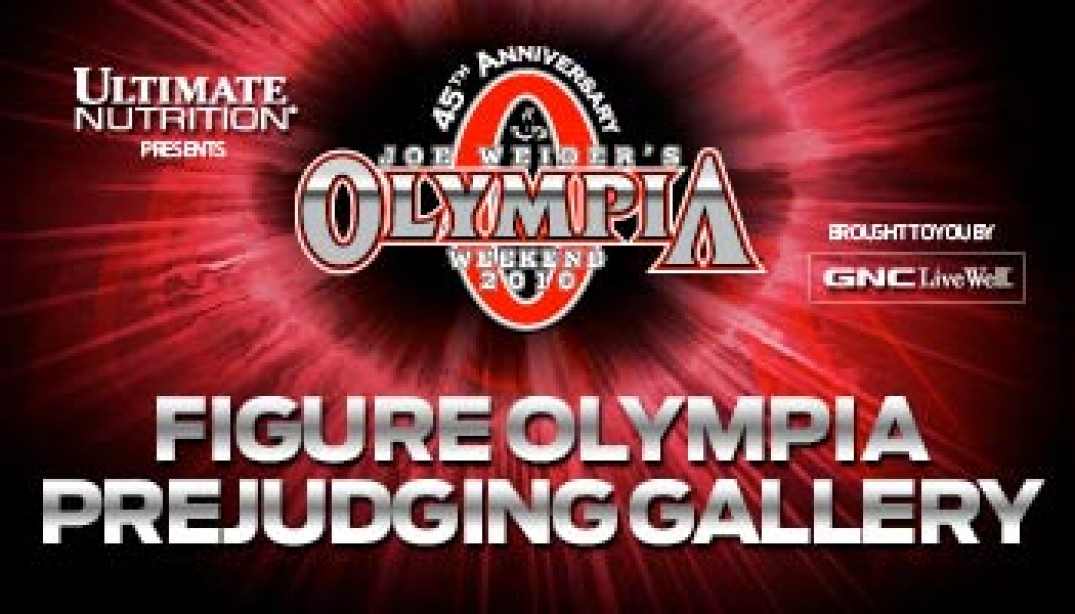 2010 FIGURE OLYMPIA PREJUDGING GALLERY