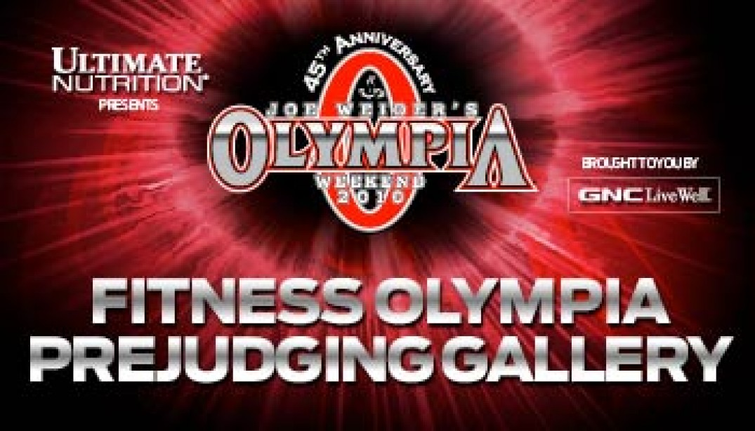 2010 FITNESS OLYMPIA PREJUDGING GALLERY