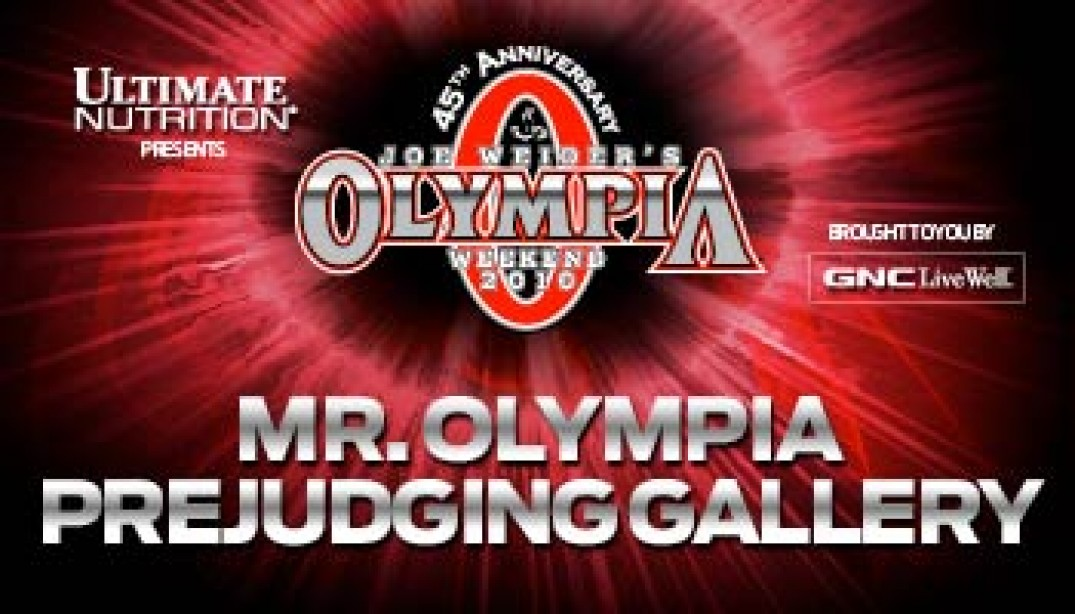 2010 MR OLYMPIA PREJUDGING GALLERY