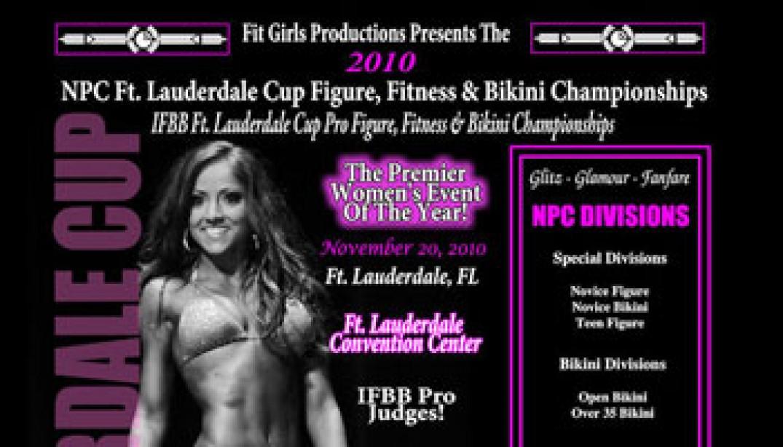 Ft. Lauderdale Cup Pro Figure, Fitness & Bikini Championships