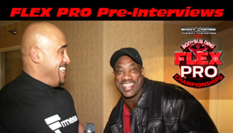 FLEX PRO Pre-Show Interviews with DJ!