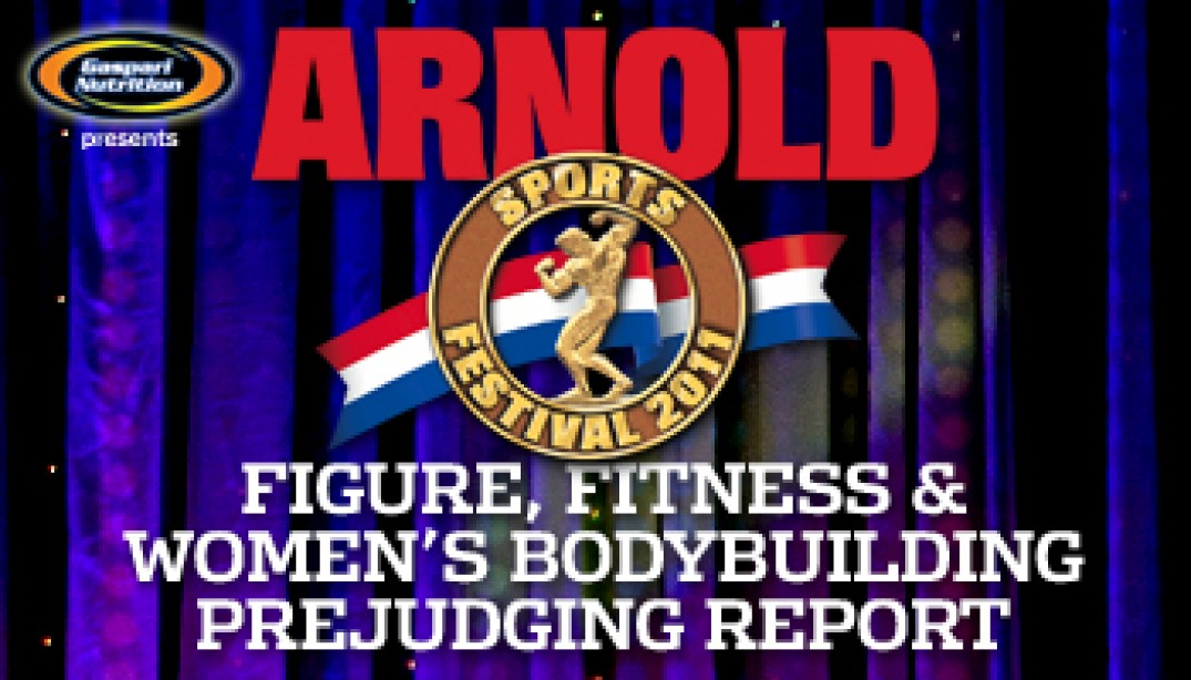 FIGURE, FITNESS AND MS. INTERNATIONAL PREJUDGING REPORT