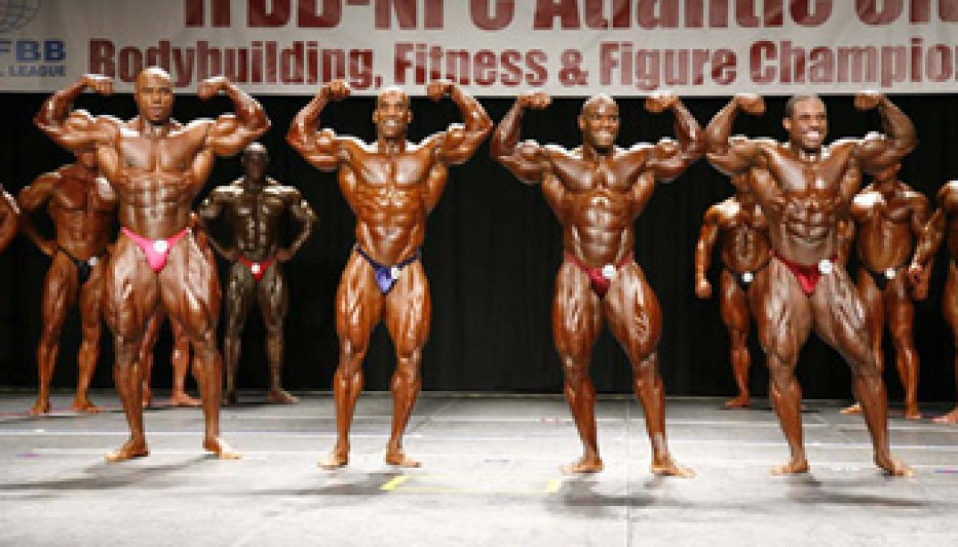 2008 ATLANTIC CITY PRO PREJUDGING DAY TWO
