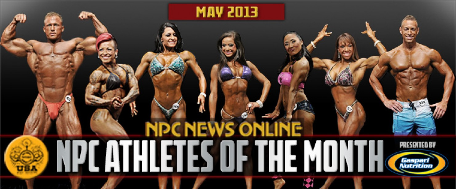 NPC and Gaspari Announce May 2013 Athletes of the Month