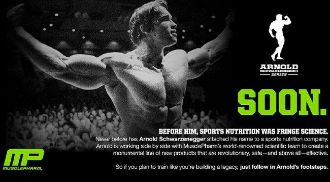 Arnold Schwarzenegger to Release New Supplement Line