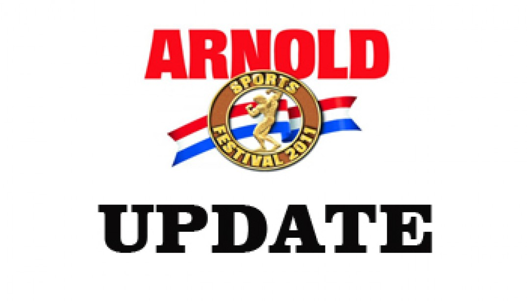 Arnold Classic Competitor List Update!