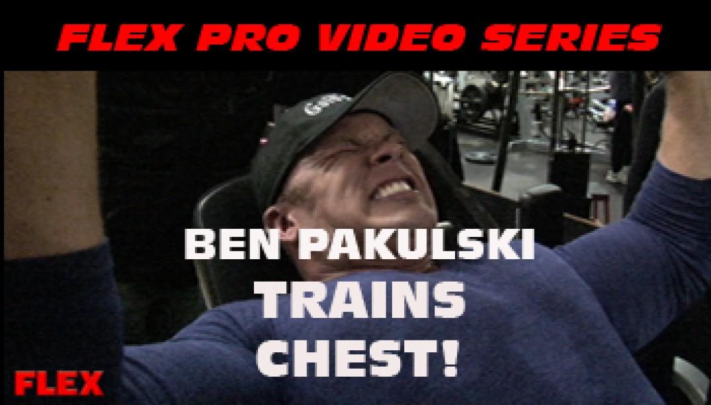 FLEX VIDEO: Ben Pakulski Trains Chest