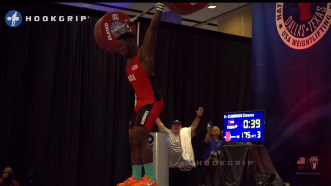 C.J. Cummings is a 15-Year-Old Weight Lifting Phenom