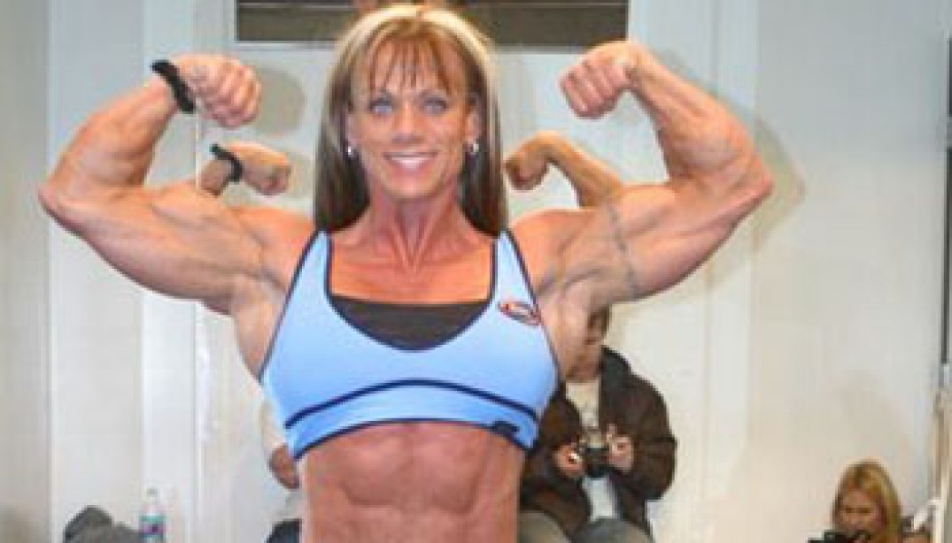 CATHY LEFRANCOIS READY FOR THE ARNOLD