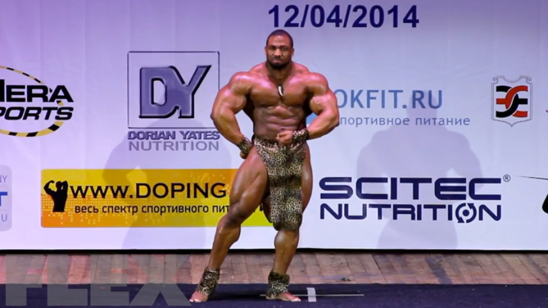 Cedric McMillan Guest Posing in Moscow