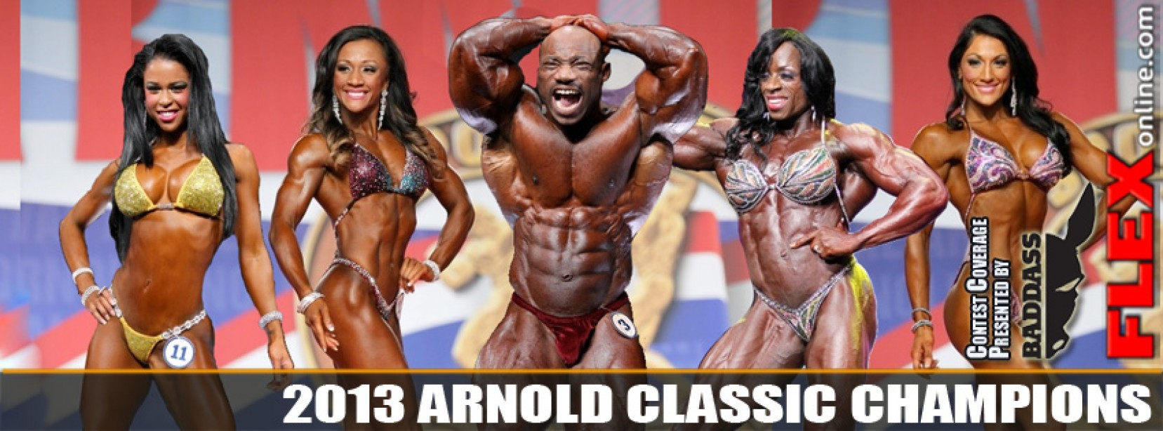 Full Results for Arnold Classic and Ms International