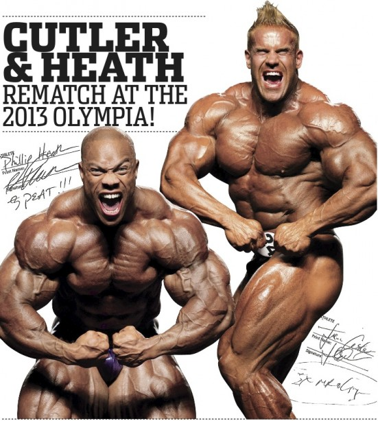 Battle for the 2013 Olympia Heats Up!!!