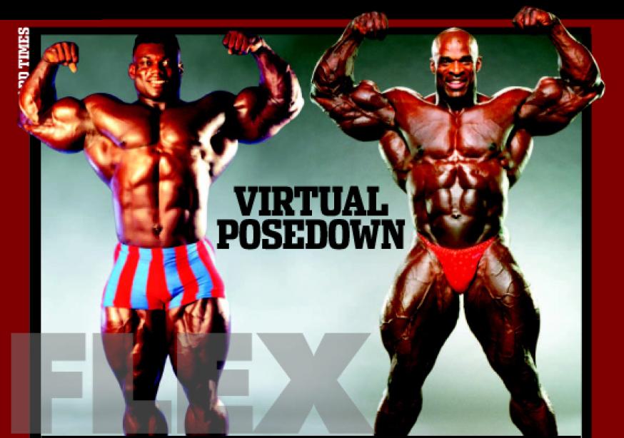 Virtual posedown: Vic Richards vs. Ronnie Coleman