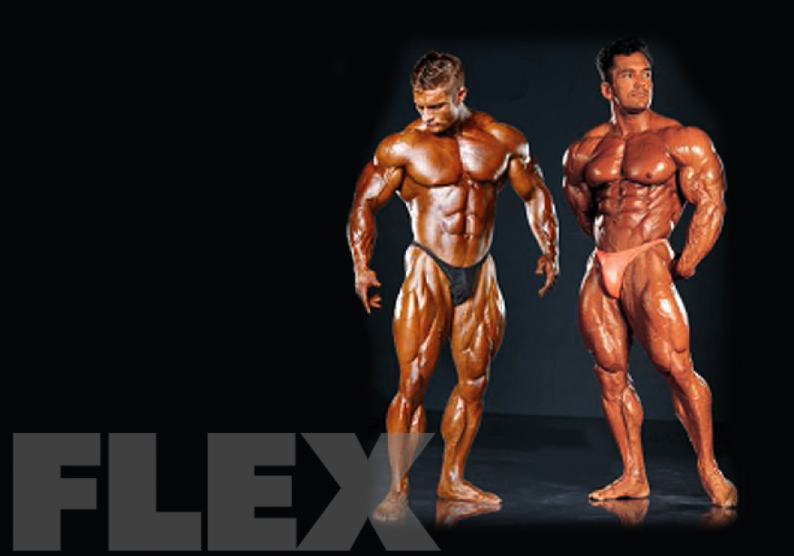 Virtual Posedown: Flex Lewis vs. Lee Labrada
